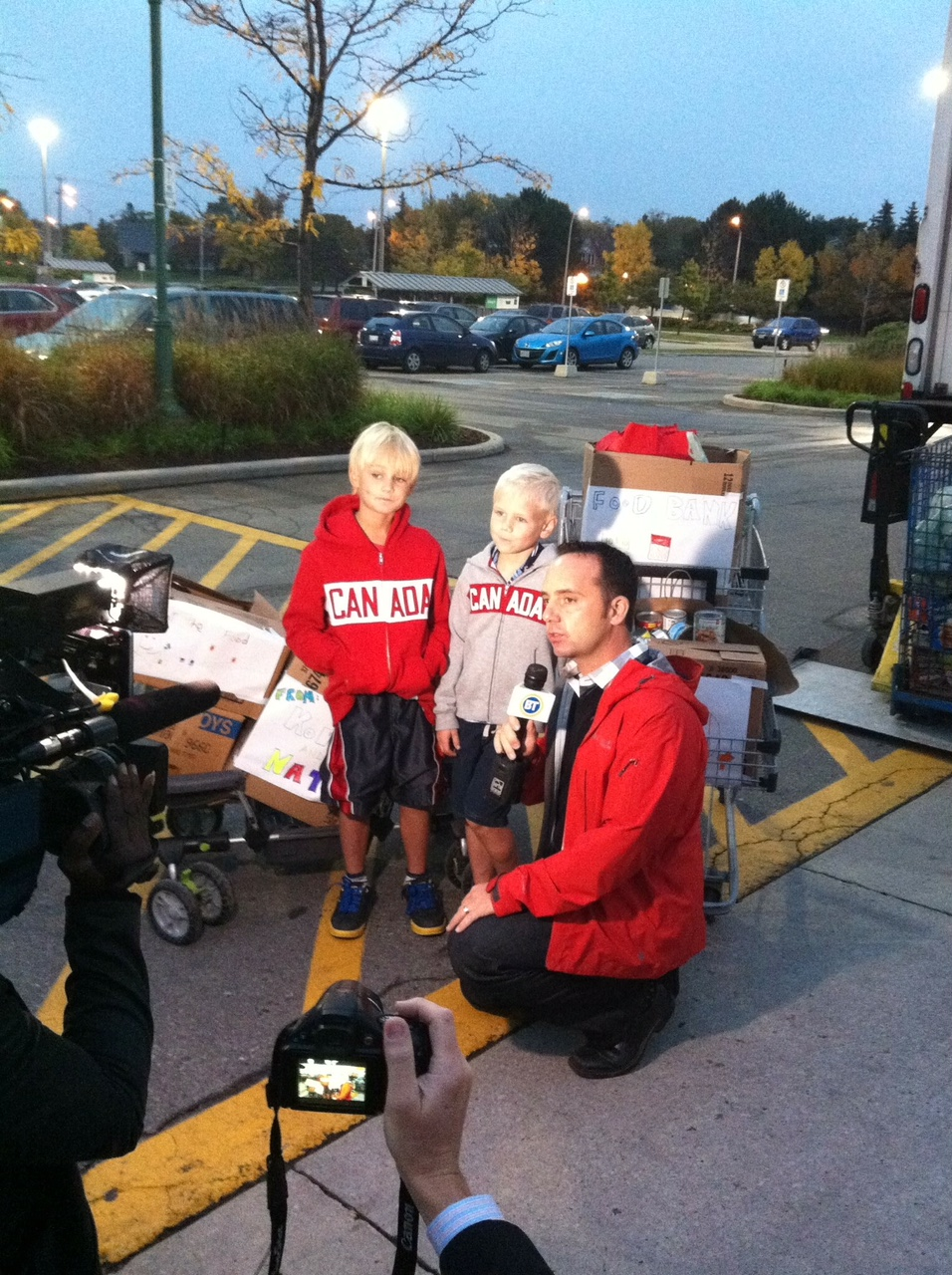 A few years ago, the annual food drive Nancy Milton and her children go on caught the eye of Citytv.