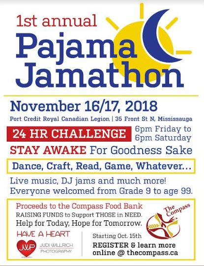 Join The Compass At The PJ Jamathon November 16!