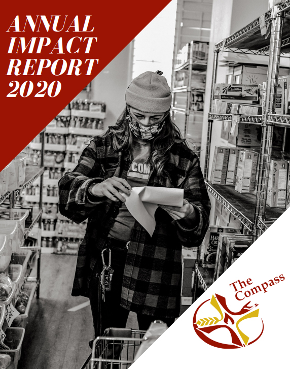 Cover image of The Compass 2020 Impact Report
